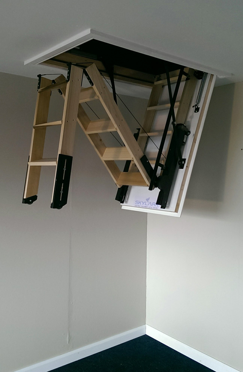Surrey Loft Ladders Electric Loft Ladder